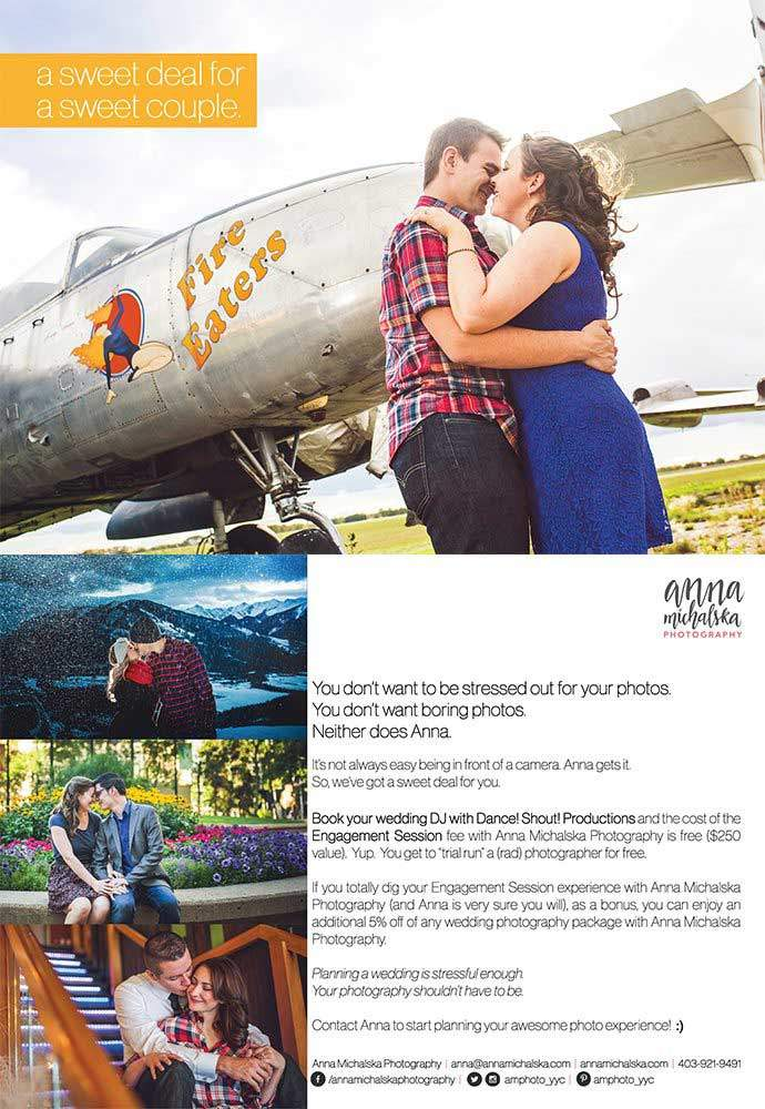 Get A Free Engagement Photo Session with Anna Michalska Photography